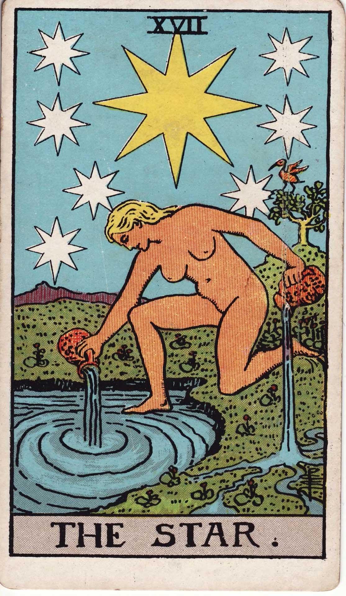 La Estrella Tarot Arcano Número 17