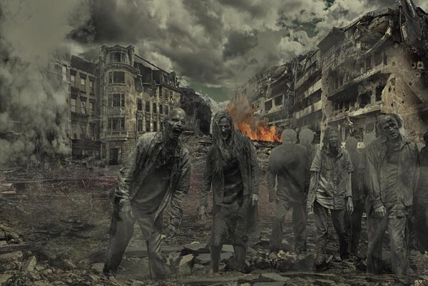 soñar con apocalipsis zombie